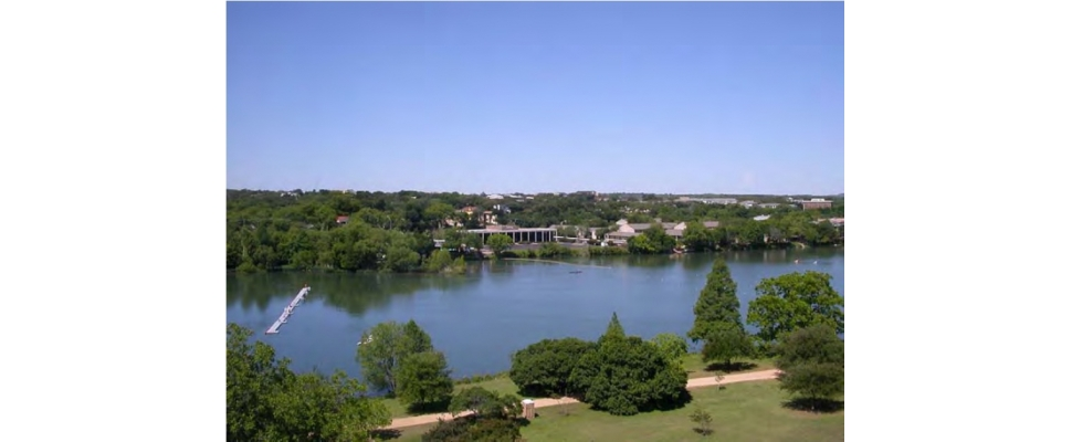 Lady Bird Lake view